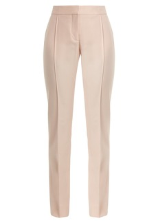 Stella McCartney Anna high-rise slim-leg wool trousers