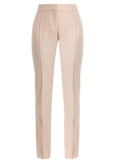 Stella McCartney Anna high-rise slim-leg wool trousers