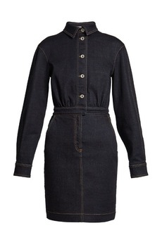 Stella McCartney Annamaria point-collar denim dress