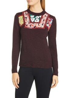 Stella McCartney Appliqué Wool Sweater