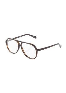 Stella McCartney Aviator Acetate Optical Glasses