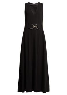 Stella McCartney Belted cady dress
