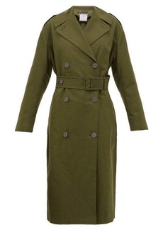 Stella McCartney Belted cotton-canvas trench coat
