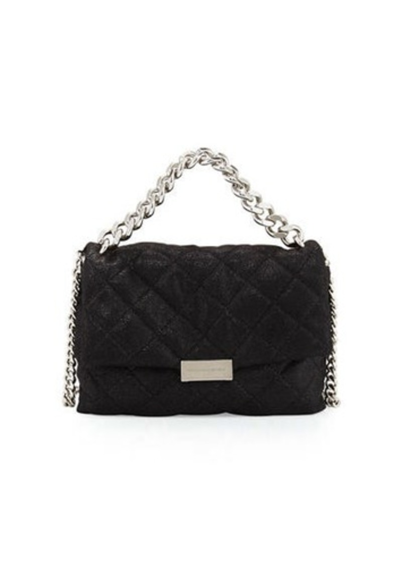 Stella McCartney Stella McCartney Bex Small Quilted Flap Shoulder ... : stella mccartney quilted bag - Adamdwight.com