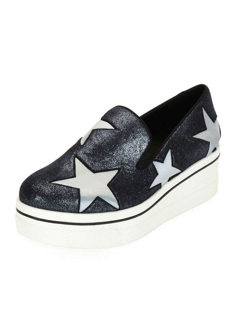 d1917758435 Stella McCartney Stella McCartney Binx Stars Glittered Loafer