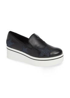 Stella McCartney Binx Stars Slip-On Platform Sneaker (Women)