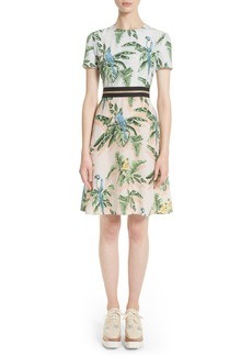 Stella McCartney Bird of Paradise Silk Crêpe de Chine Dress