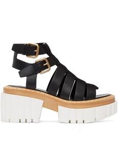 Stella McCartney Black Emilie Gladiator Heeled Sandals