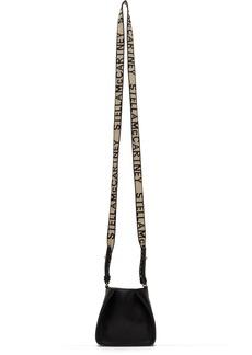 Stella McCartney Black Mini Logo Crossbody Bag