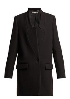 Stella McCartney Bryce single-breasted wool-twill coat