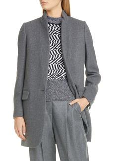 Stella McCartney Bryce Wool Blend Mélange Jacket