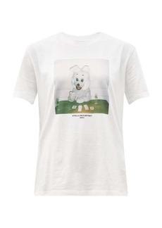 Stella McCartney Bunny-print organic-cotton T-shirt