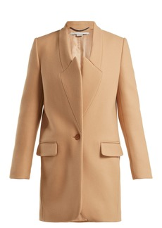 Stella McCartney Casandra single-breasted coat