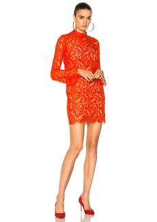 Stella McCartney Cayla Lace Mini Dress