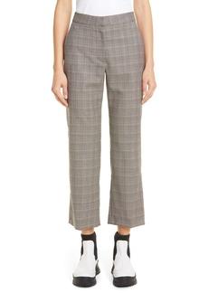 Stella McCartney Check Wool Trousers