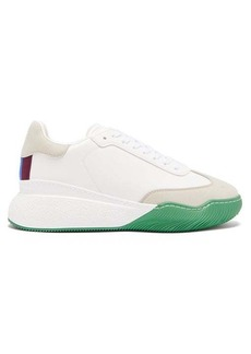 Stella McCartney Chunky-sole faux-leather trainers
