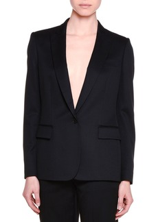 Stella McCartney Classic Tailored One-Button Suit Jacket
