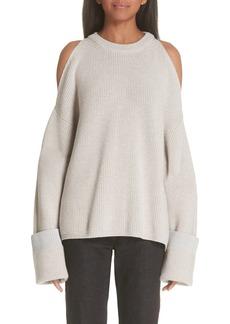 Stella McCartney Cold Shoulder Sweater