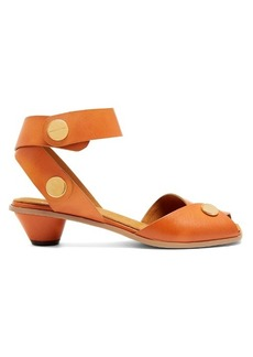 Stella McCartney Collection cone-heel faux-leather sandals