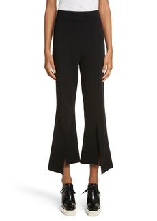 Stella McCartney Compact Knit Crop Flare Pants