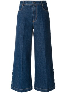 Stella McCartney coulotte flared jeans - Blue