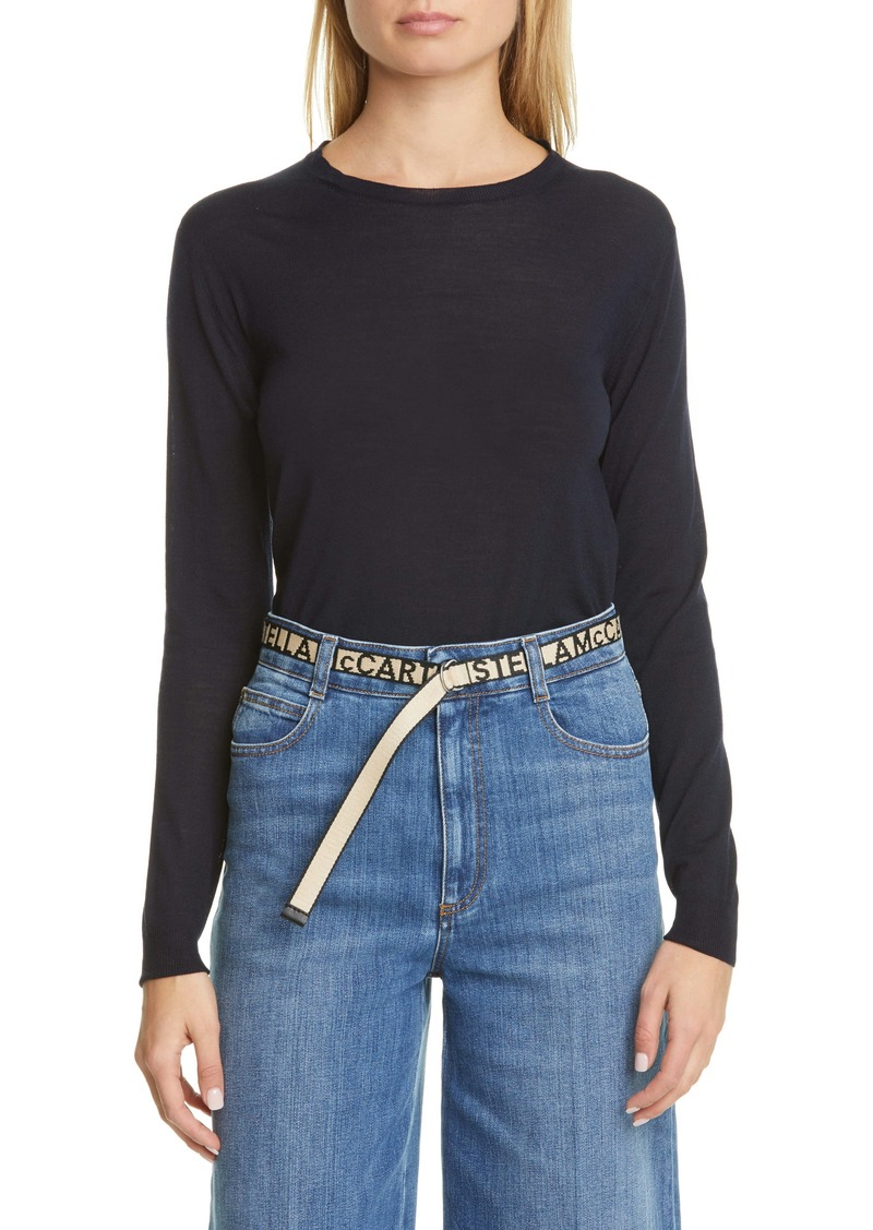 Stella McCartney Crewneck Wool Sweater