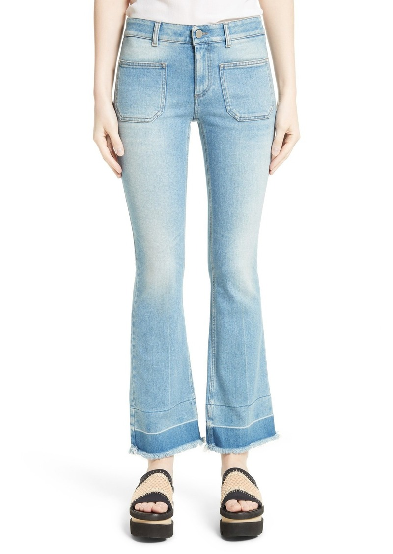 Cropped flared jeans Stella McCartney