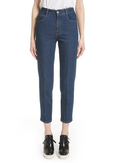 Stella McCartney Crop Skinny Jeans (Midnight)