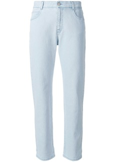 Stella McCartney cropped boyfriend jeans - Blue