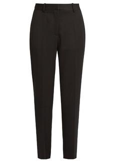 Stella McCartney Cropped tuxedo trousers