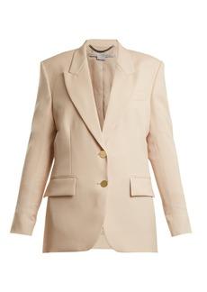 Stella McCartney Damaris wool-blend blazer