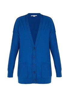 Stella McCartney Deep V-neck wool cardigan
