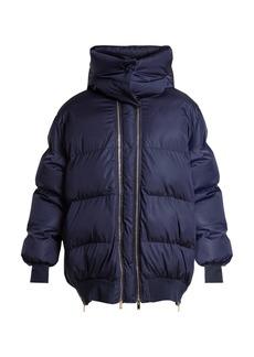 Stella McCartney Detachable-hood quilted jacket