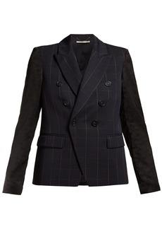Stella McCartney Double-breasted checked blazer