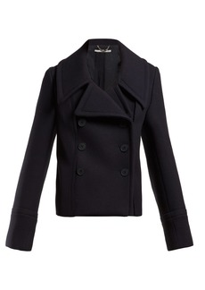 Stella McCartney Double-breasted wool overcoat