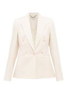 Stella McCartney Double-breasted wool-twill jacket