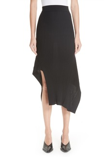 Stella McCartney Draped Rib Knit Skirt