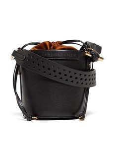 Stella McCartney Drawstring faux-leather bucket bag