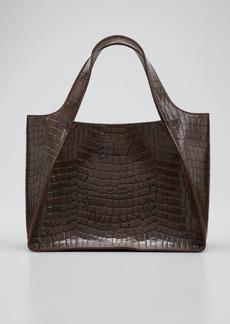 Stella McCartney Eco Alter Croc Crossbody Tote Bag