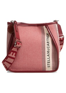 Stella McCartney ECO Patchwork Logo Canvas Crossbody Bag