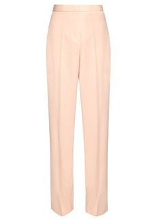 Stella McCartney Elsmere wide-leg wool-twill trousers