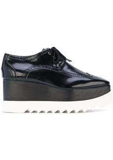 Stella McCartney Elyse brogue shoes - Black