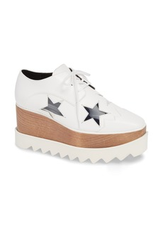 Stella McCartney Elyse Clear Star Platform Oxford (Women)