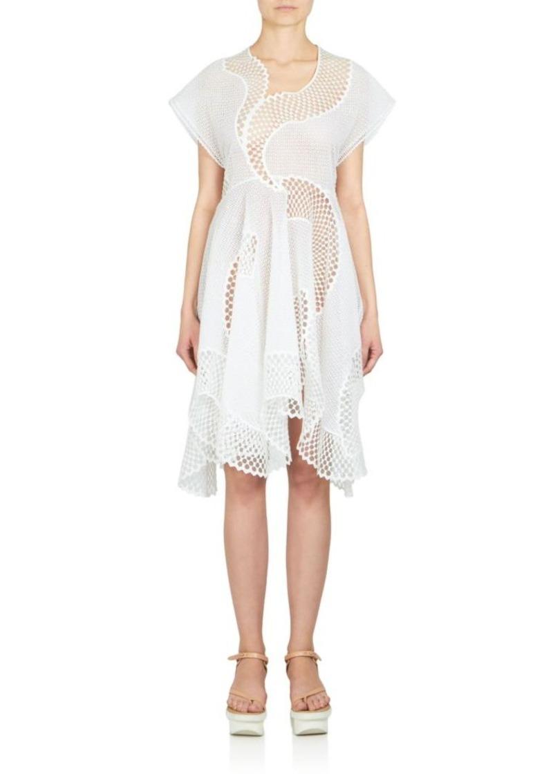 Stella McCartney Embroidered Mesh Dress
