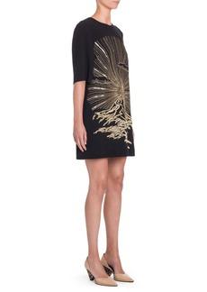 Stella McCartney Embroidered Shift Dress