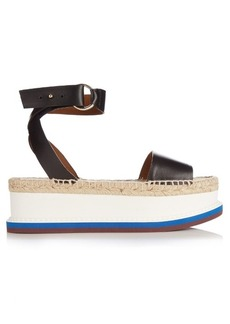 Stella McCartney Espadrille platform sandals