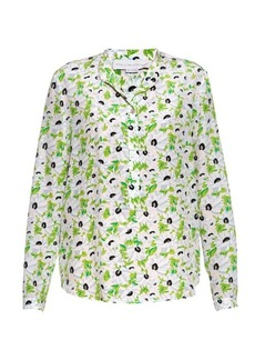 Stella McCartney Eva floral-print silk blouse
