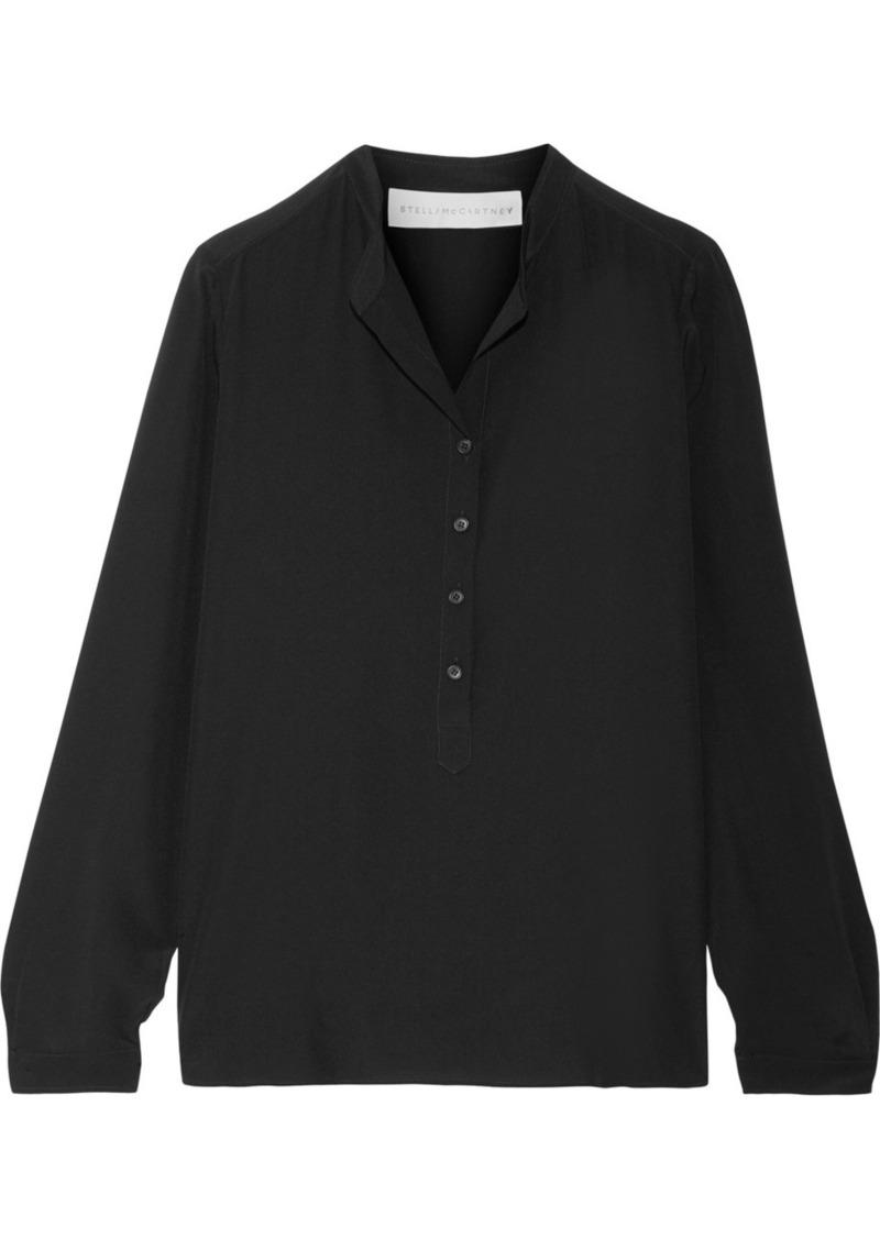 2e9d51afe9dc48 Stella McCartney Stella McCartney Eva silk crepe de chine blouse ...