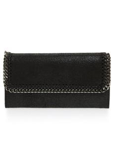 Stella McCartney 'Falabella - Rainbow POP' Faux Leather Continental Wallet