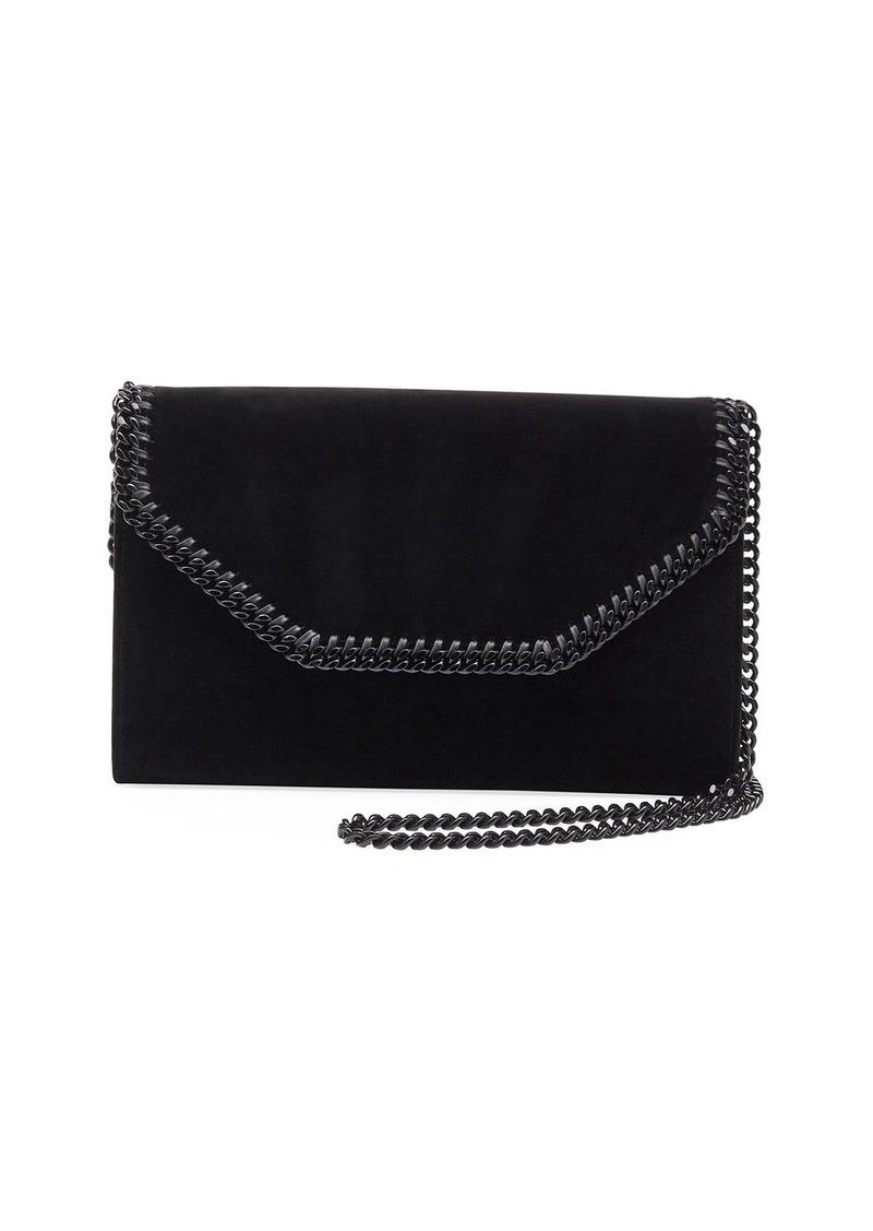 413ed09ffb Stella McCartney Falabella Eco Alter Velvet Box Clutch Bag | Handbags